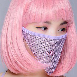 COPY - Violet Crystal Face Mask